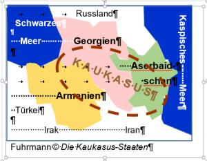 fluss vom kaukasus ins kaspische meer